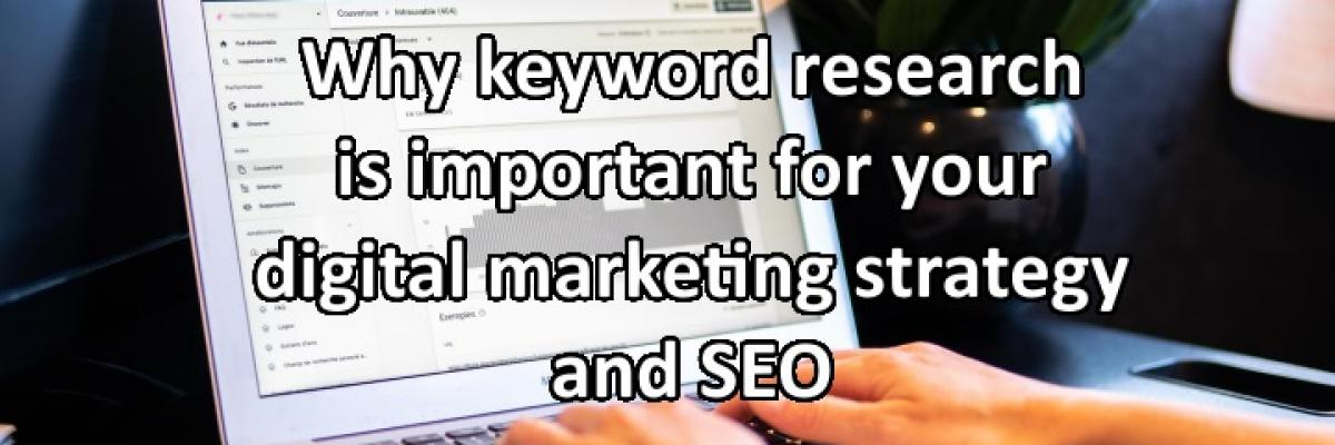 Why is keyword research important for SEO and digital marketing in South Africa